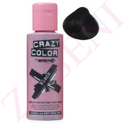 CRAZY COLOR CREMA COLORANTE CABELLO NATURAL BLACK 32 100ML