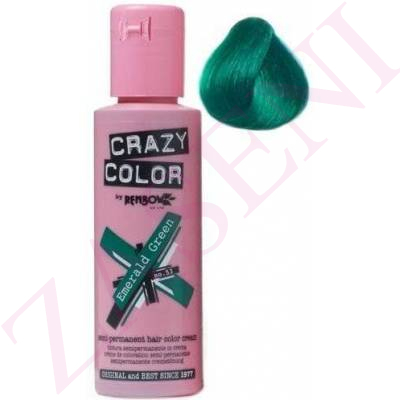 CRAZY COLOR CREMA COLORANTE CABELLO ESMERALDA 53 100ML