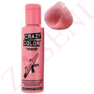 CRAZY COLOR CREMA COLORANTE CABELLO CANDY FLOSS 65 100ML