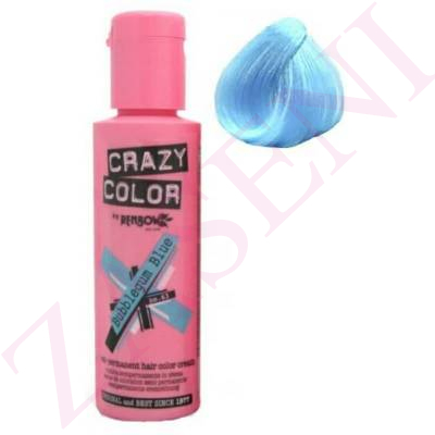 CRAZY COLOR CREMA COLORANTE CABELLO BUBBLEGUM BLUE 63 100ML