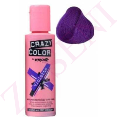 CRAZY COLOR CREMA COLORANTE CABELLO VIOLETTE 43 100ML