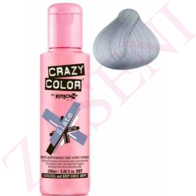 CRAZY COLOR CREMA COLORANTE CABELLO SLATE 74 100ML