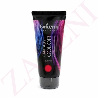 EXITENN FANTASY COLOR Y BRILLO SEMI PERMANENTE ROJO 100ML