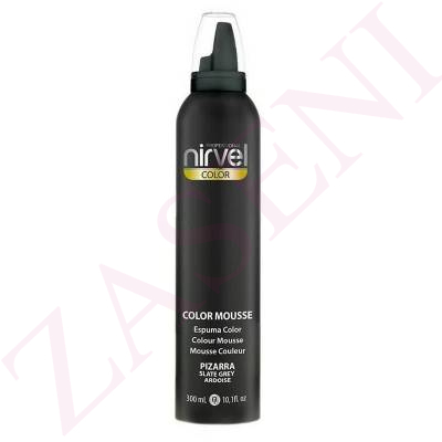 NIRVEL ESPUMA COLOR 300ML PIZARRA