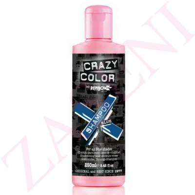 CRAZY COLOR CHAMPÚ BLUE 250ML