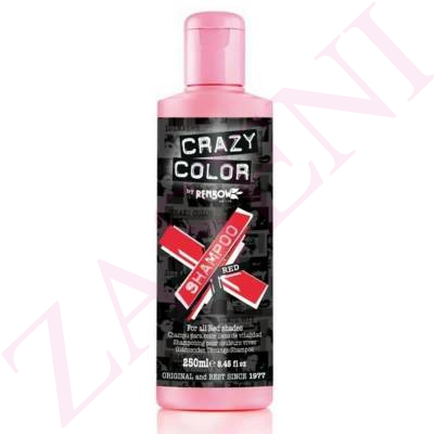 CRAZY COLOR CHAMPÚ ROJO 100ML