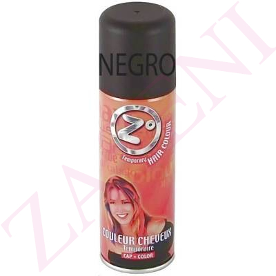 LACA COLOR NEGRO 125ML