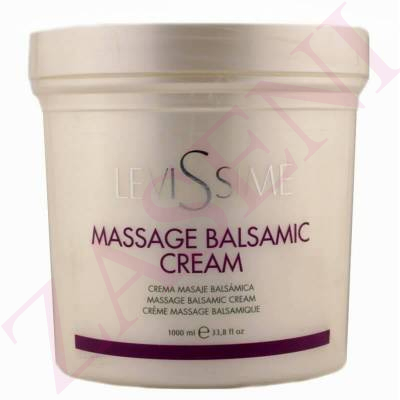 LEVISSIME CREMA MASSAGE BALSAMIC 1000ML
