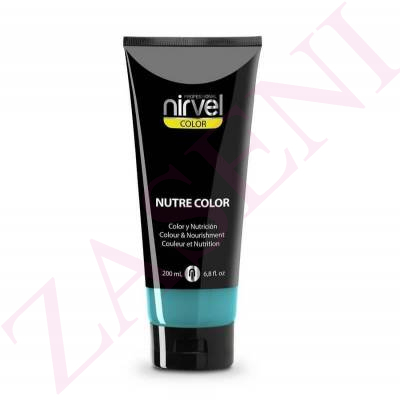 NIRVEL NUTRE COLOR FLUOR TURQUESA 200ML