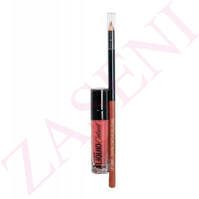 WET N WILD PACK LIQUID CATSUIT E922B+ LIP LINER E712
