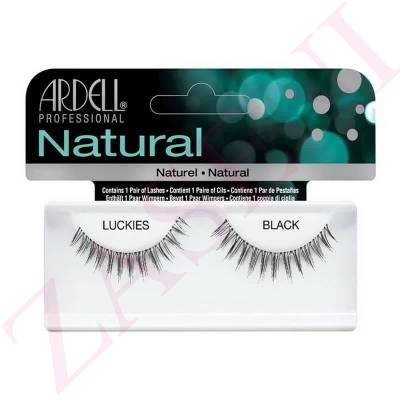 ARDELL PESTAÑAS COMPLETAS NATURAL LUCKIES BLACK