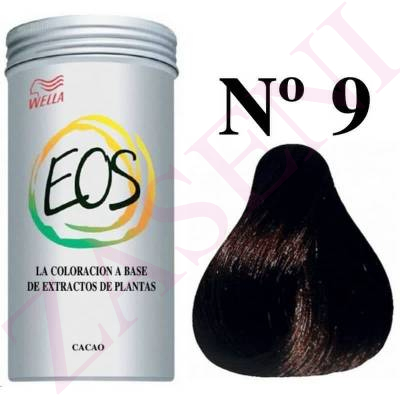 WELLA COLORACION EOS A BASE DE PLANTAS Nº 9 CACAO