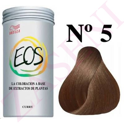 WELLA COLORACION EOS A BASE DE PLANTAS Nº 5 CURRY