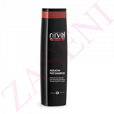 NIRVEL CHAMPÚ POST KERATINA 250ML