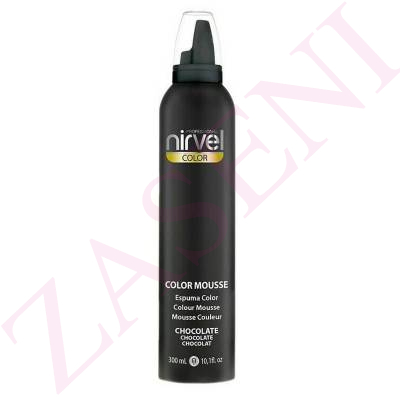 NIRVEL ESPUMA COLOR 300ML CHOCOLATE