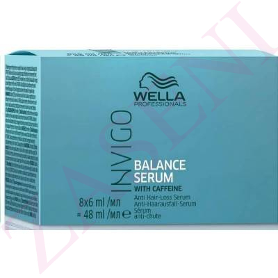WELLA INVIGO SERUM CAIDA 8X6ML