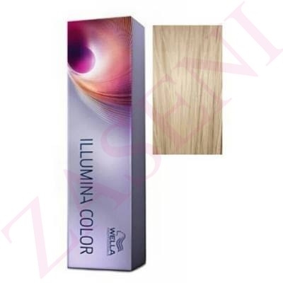 10/1 RUBIO SUP.CLARO CENIZA WELLA ILLUMINA COLOR 60 ML