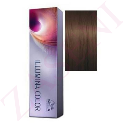 5/7 CASTAÑO CLARO MARRÓN WELLA ILLUMINA COLOR 60 ML