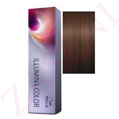 6/76 RUBIO OSCURO MARRÓN VIOLETA WELLA ILLUMINA COLOR 60 ML