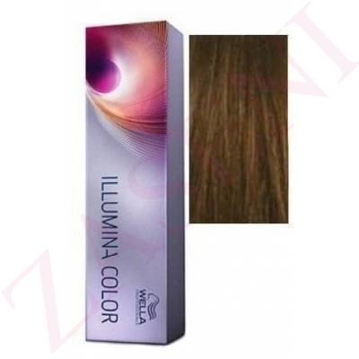 6/ RUBIO OSCURO WELLA ILLUMINA COLOR 60 ML