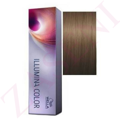 7/31 RUBIO MEDIO DORADO CENIZA WELLA ILLUMINA COLOR 60ML.