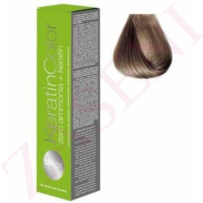 BBCOS KERATIN COLOR 8/7 100ML
