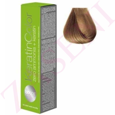 BBCOS KERATIN COLOR 8/0 100ML