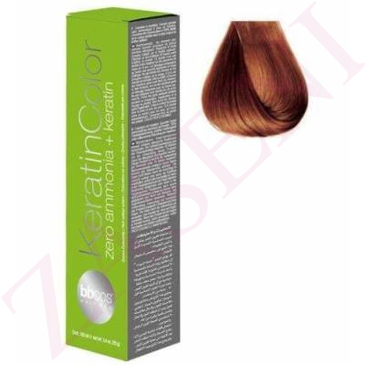 BBCOS KERATIN COLOR 7/40 100ML