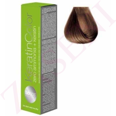 BBCOS KERATIN COLOR 7/3 100ML