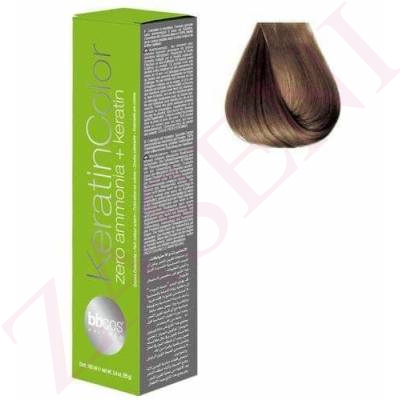 BBCOS KERATIN COLOR 7/0 100ML