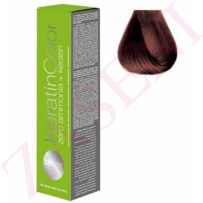 BBCOS KERATIN COLOR 5/4 100ML