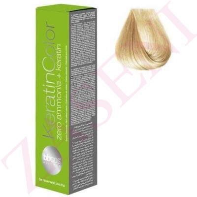 BBCOS KERATIN COLOR 10/0 100ML