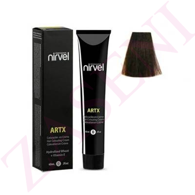 NIRVEL TINTE 4.77 CASTAÑO MEDIO MARRÓN INTENSO 60ML