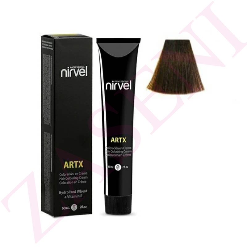 NIRVEL TINTE 5.71 MARRÓN MEDIO 60ML