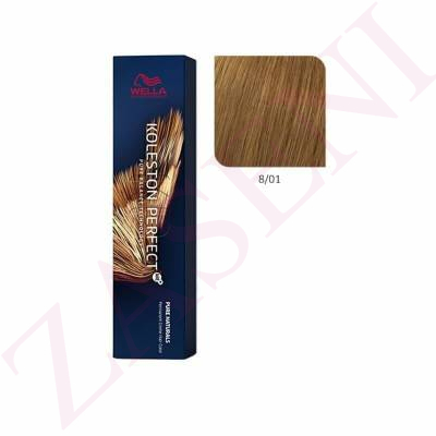 WELLA TINTE KOLESTON PERFECT ME+ Nº 8/01 60ML