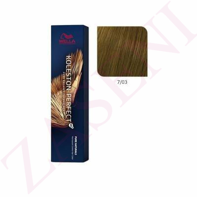 WELLA TINTE KOLESTON PERFECT ME+ Nº 7/03 60ML