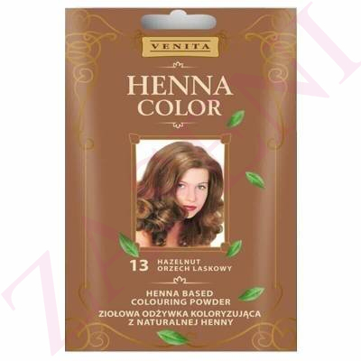 VENITA HENNA COLOR 13 HAZELNUT