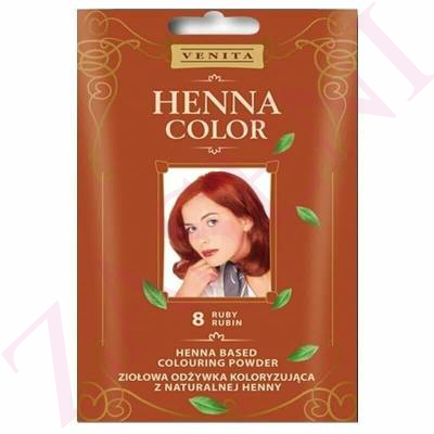 VENITA HENNA COLOR 8 RUBY