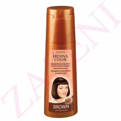 VENITA CHAMPU HENNA BROWN 250ML