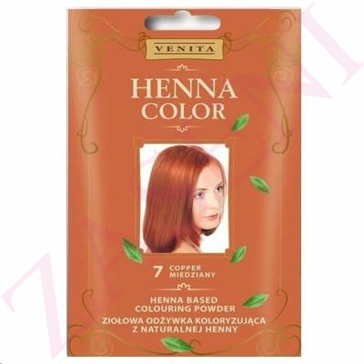 VENITA HENNA COLOR 7 COPPER