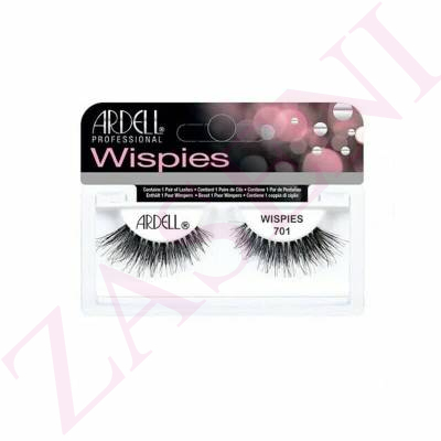 ARDELL PESTAÑAS WISPIES BLACK 701
