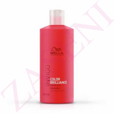 WELLA INVIGO CHAMPÚ BRILLANCE FINE 500ML