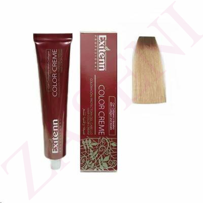 10 RUBIO EXTRACLARO 100ML. EXITENN COLOR CREME