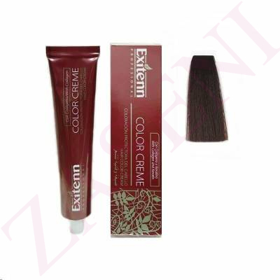 EXITENN COLOR CREME 4.5 CAOBA OSCURO 100ML
