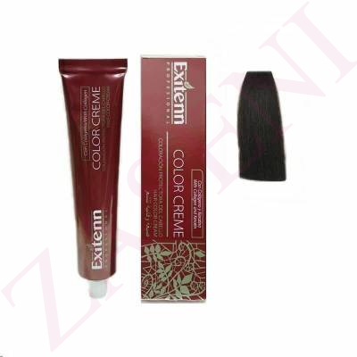 EXITENN COLOR CREME 407 CASTAÑO MEDIO CACAO 100ML