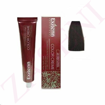 EXITENN COLOR CREME 472 CASTAÑO MEDIO CHOCOLATE 100ML