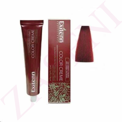 EXITENN COLOR CREME 666 ROJO RUBÍ 100ML