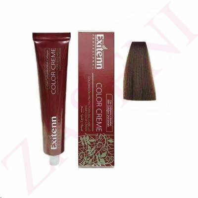 EXITENN COLOR CREME 672 RUBIO OSCURO CHOCOLATE 100ML