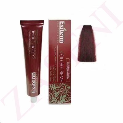 EXITENN COLOR CREME 6EX ROJO MAGENTA 100ML