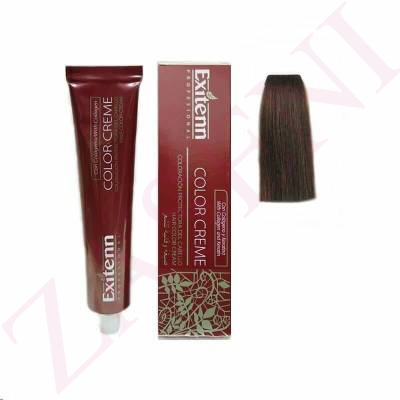 70 RUBIO MEDIO AVELLANA 100ML. EXITENN COLOR CREME